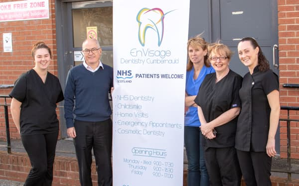Cumbernauld dental staff